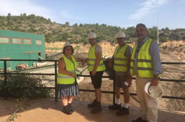 Brancal visita Reciplasa junto a los presidentes de los grupos de trabajo del Consell de Participación Ciudadana