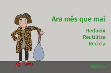 Reciplasa inicia una campanya per conscienciar de la importància de seguir reciclant malgrat el confinament