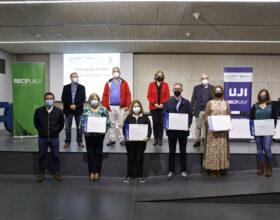 La Càtedra Reciplasa de Gestió de Residus Urbans de l'UJI lliura els premis «Què fem amb el fem?» 2020