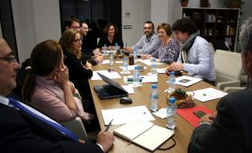 Reciplasa es reuneix en l'ajuntament d'Almassora per a repassar l'estat dels projectes iniciats