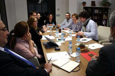 Reciplasa se reúne en el ayuntamiento de Almassora para repasar el estado de los proyectos iniciados