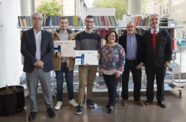 Iván Segura y Santiago Alegre ganan los premios a mejor TFM y TFG sobre gestión de residuos urbanos