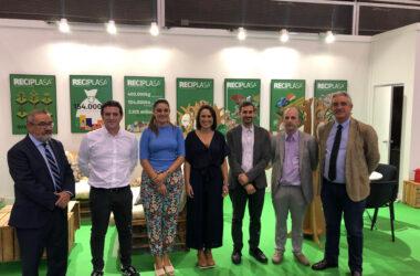 Reciplasa presenta en la Ecofira los trabajos para reducir el impacto ambiental y económico de los residuos