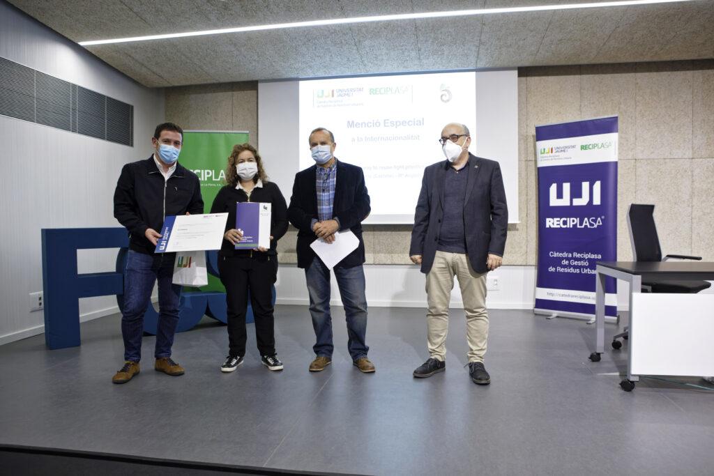 Mención especial al IES Politécnico de Castelló