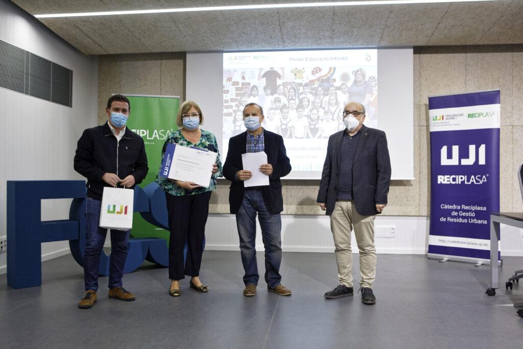 Premio al Lope de Castelló en la categoria de educación infantil