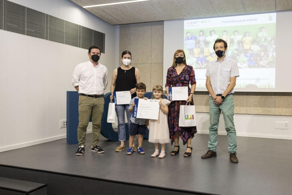 Ganadores eduación infantil: CEIP Bisbe Climent de Castelló de la Plana con «Estem a temps»