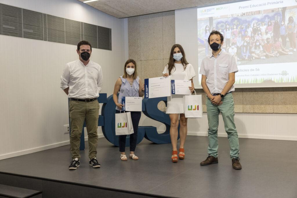Ganadores educación primaria: CEIP Pintor Castell de Castelló de la Plana con «Les notícies de 5è»