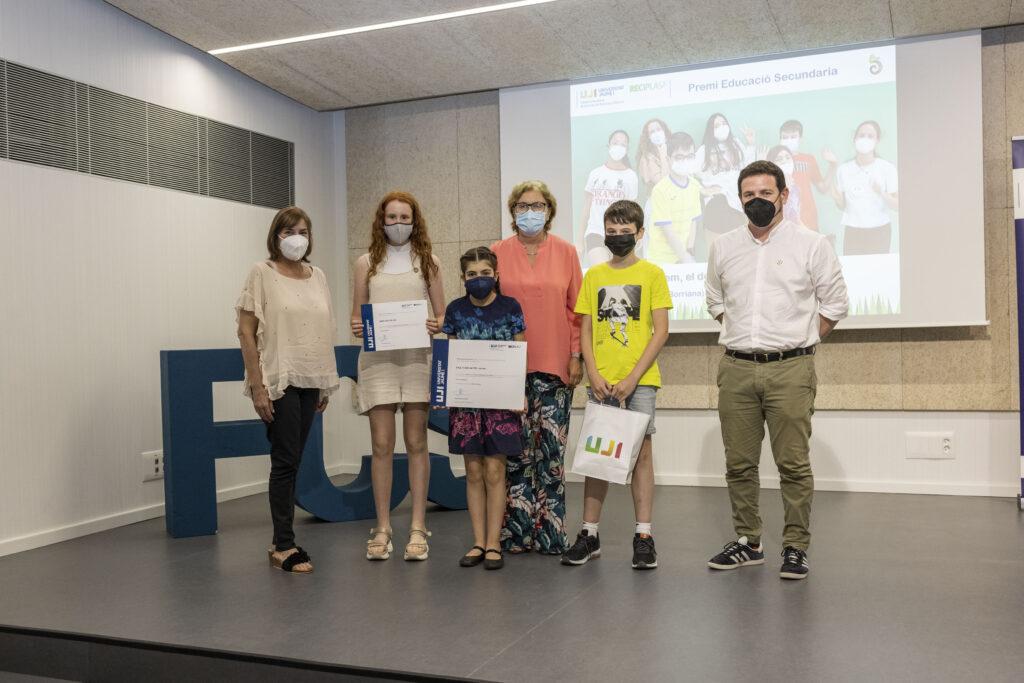 Ganadores secundaria: IES Jaume I amb «El fem, el desfem!»